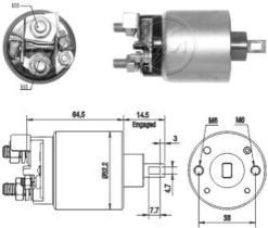 Era ZM2710 - Interruptor magnético, estárter