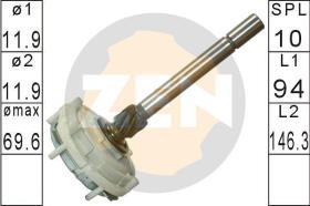 Era ZN12685 - Kit de reparación, starter de engra