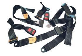 Herramientas varias 900812 - Juego de Cinturones traseros